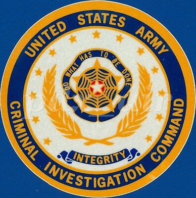 United States Army Criminal Investigation Command Large Sticker