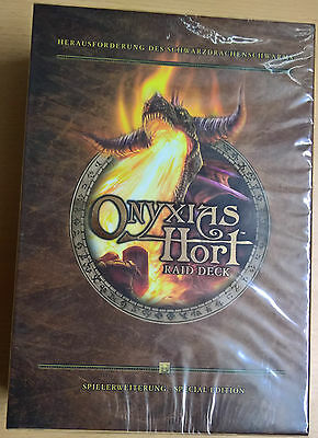 World of Warcraft (WoW) TCG Onyxias Hort Raid Deck Special Edition (Mint,Sealed)