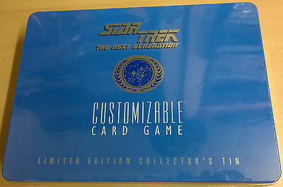 Star Trek The Next Generation CCG Limited Edition Collector's Tin Box (Mint)