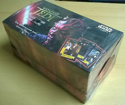 Star Wars Young Jedi TCG Die Bedrohung des Darth Maul Starter Box (Mint, Sealed)