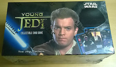 Star Wars Young Jedi TCG The Jedi Council Starter Box (Mint, Sealed)