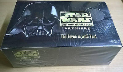 Star Wars CCG Decipher Premiere Booster Box BB Limited Edition (Mint, Sealed)