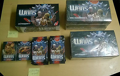 Wars CCG Decipher Die Ankunft - Lot of Boosters & Starters and Boxes (Sealed)