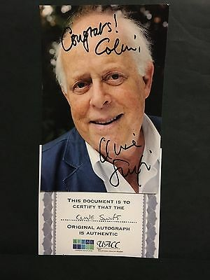 "Clive Swift hand signed 6x4 photo actor ""Keeping up appearances"""