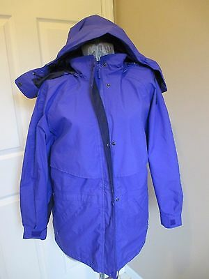 Eddie Bauer Gore Tex Women's Hooded Jacket New ! zippered hood is detachable. Wo