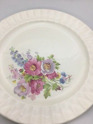 Edwin M Knowles Spring Bouquet Dinner Plate