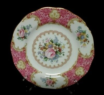 "ROYAL ALBERT  ""Lady Carlyle""  Side Plate  As New Condition - 4 Available"
