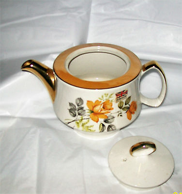 Vintage Gibson teapot Vintage china teapot made in  England 4 cup teapot