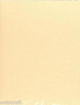 10 sheets Silky A4 250gsm Double Sided Shimmer Card IVORY