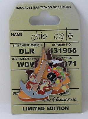 Disney Chip Dale Adventure Big Thunder Mountain LE Pin
