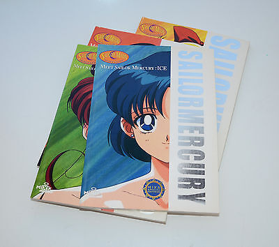 Sailor Moon scout guide Fan Book Meet Sailor Mercury Ice Art Book English Mixx