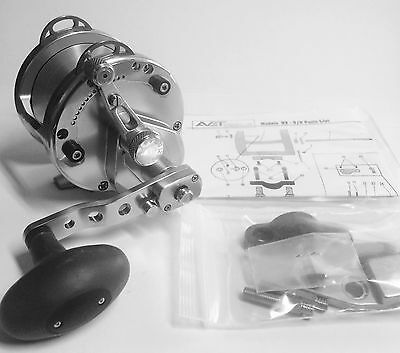 Avet Hx 5/2  Lever Drag Casting Reel - Silver - Right Hand
