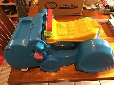 Fisher Price Ride On/walker Hippo