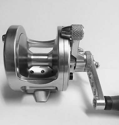 Avet Mxj 4.5:1 Lever Drag Casting Reel - Silver - Right Hand