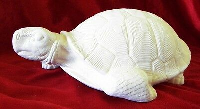 Ceramic Bisque Ready to Paint Oldman jack the Turtle  25cm Long