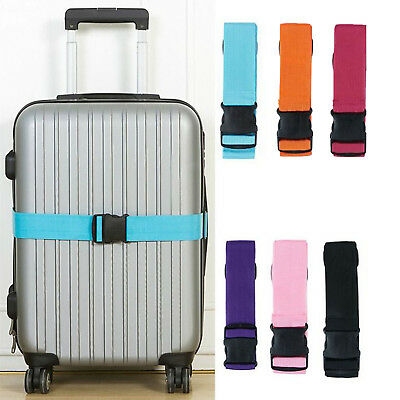 1pc Travel Safty Luggage Packing Suitcase Strap Baggage Backpack Bag Strap Belt