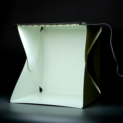 Portable Mini Photo Studio Box Photography Backdrop built-in Light Photo Box SW