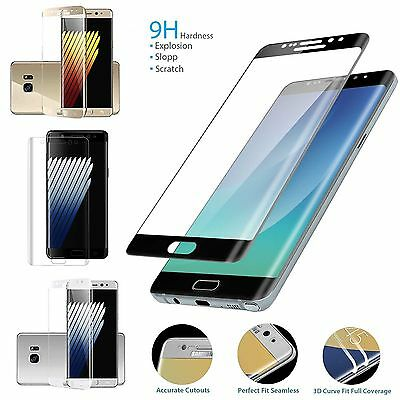 3D Full Coverage 9H Screen Protector Protective for Samsung Galaxy Series VB