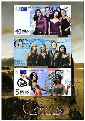 The Corrs A4 Euro's