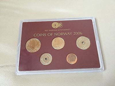 Norwegen 36,50 Kronen 2006 PP Exlusiv Set Proof Coins of Norway Münzen