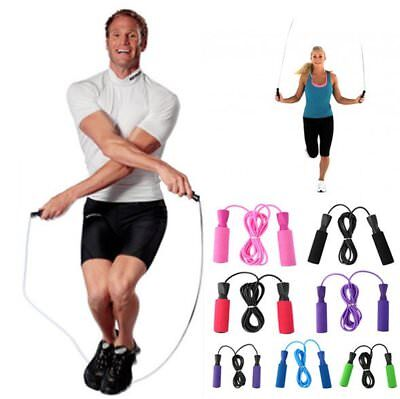 Aerobic Exercise Boxing Skipping Jump Rope  Bearing Speed Fitness F7JV