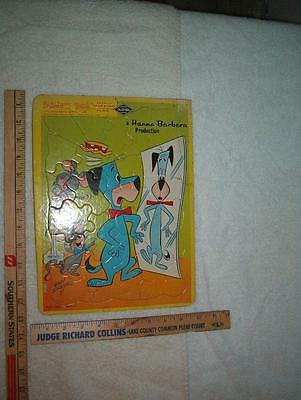 1975 Huckleberry Hound frame-tray puzzle see scan