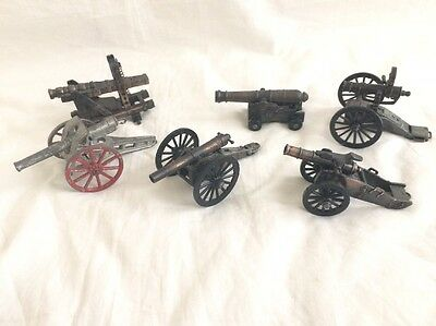 Play Me Cannon Pencil Sharpeners - Six Cannons Total