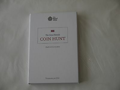 The Royal Mint Great British Coin Hunt £2 Album ( Collector's Edition )