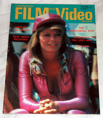 Continental Film and Video - No 346 - August 1981 - Cannonball Run