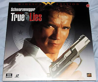 True Lies NTSC CLV Laserdisc