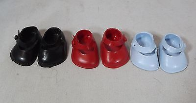 Pair Of Cinderella Doll Strap Shoes Size 05 - Various Colours *one Pair Only*