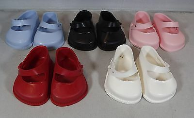 Pair Of Cinderella Doll Strap Shoes Size 1 - Various Colours *one Pair Only*