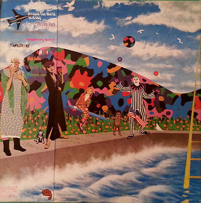 PRINCE AND THE REVOLUTION - Around the world in a day - LP ITA 1985 GF MINT
