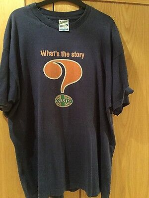 Oasis promo wtsmg original t shirt excellent condition ULTRA RARE