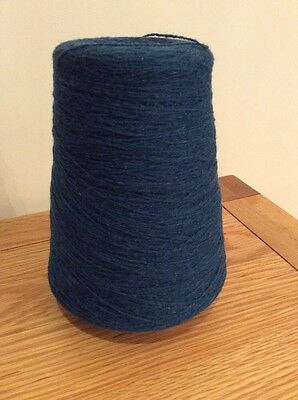 3 Ply 100% Oiled Shetland Wool Machine Washable Colour Blue