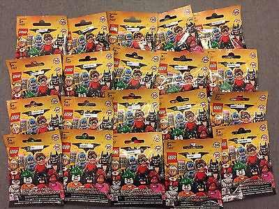 Lego 71017 Batman Movie Minifigures Complete Set 20 In Hand Sealed Free Ship