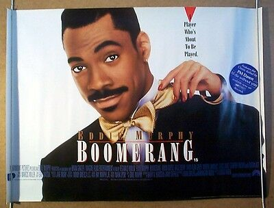 BOOMERANG (1992) Original Cinema Quad Movie Poster - Eddie Murphy, Halle Berry