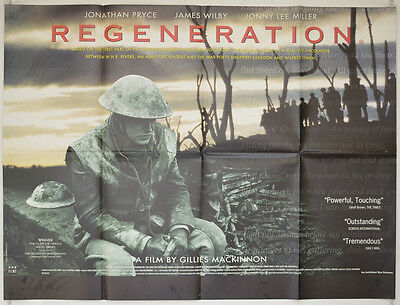 REGENERATION (1997) Original Quad Movie Poster - Jonathan Pryce, James Wilby