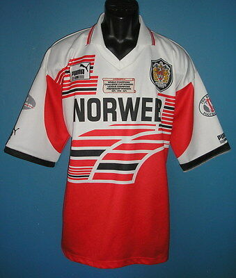 1994 Wigan Warriers Rugby League Shirt [XLarge]  World Champions