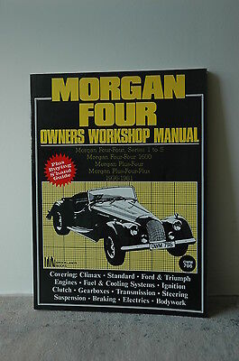 Morgan Four Owners Workshop Manual OWM 796 by R Clarke 1989 paperback