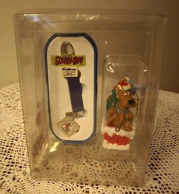 Scooby-Doo! Armitron watch and ornament 1999 New In Original Plastic