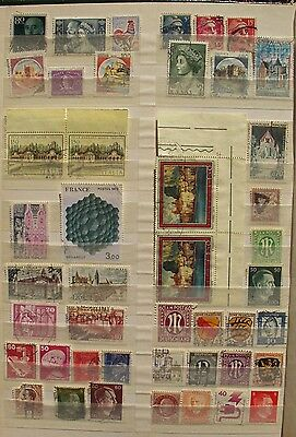 WESTERN EUROPE, 90+ stamps, many ITALY, FRANCE, GERMANY