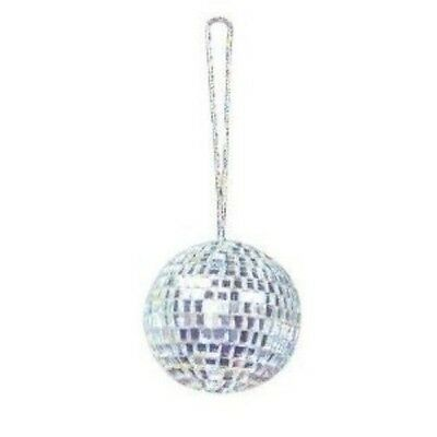 2 Inch Disco Mirror Ball Necklace (GREAT FOR  PARTY)