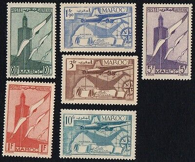 Morocco.  1939 Airmail. MH