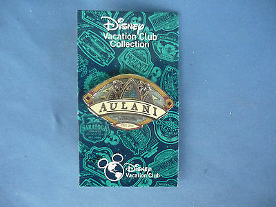 AULANI  Disney Pin 2015 HAWAII  EXCLUSIVE DVC Vacation Club Exclusive New Card