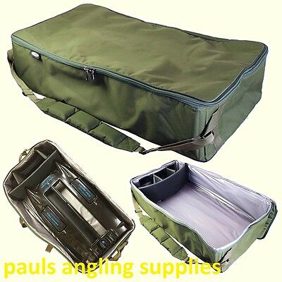 Extra Large Padded Fishing Bait Boat Bag Carryall  with Sholder strap