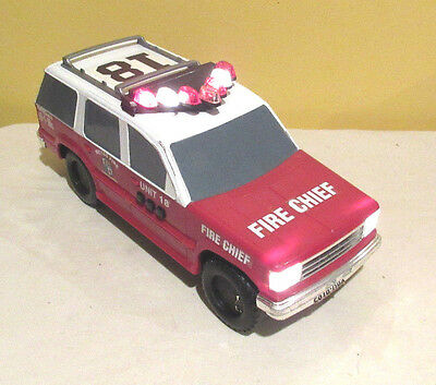 Fun Rise Fire Chief Car SUV EXPLORER 208 with sound and lights FUNRISE 1994
