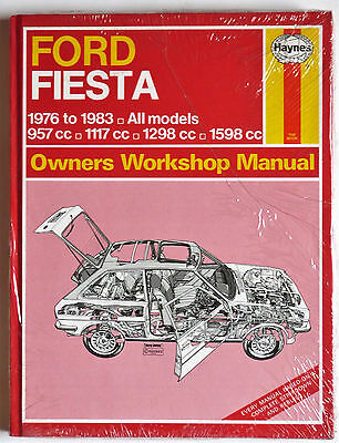 New Ford Fiesta Haynes Car Manual 1976 to 1983, All Models
