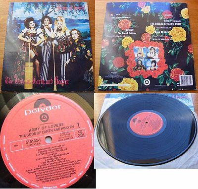 Army Of Lovers-Gods Of Earth And Heaven Vinyl Lp 1993 Ex+