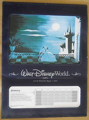 Disney 2012 Calendar - Annual Passholder Exclusive With 12 Frameable Lithographs